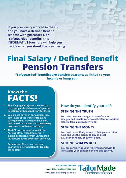 Pensions for Expats