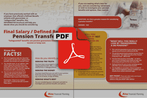 PDF 1 - DB Transfers UK SIPP Advice Brochure