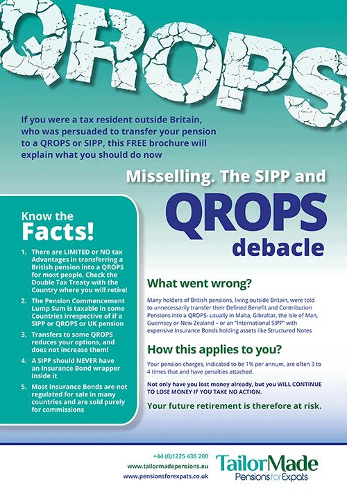QROPS Debacle Brochure Image