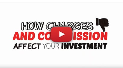 How charges and commission effect your investment - Video Image